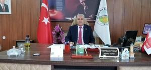 Eleşkirt Belediye Başkanından Milli Dayanışma Kampanyasına 1 maaşıyla destek verdi