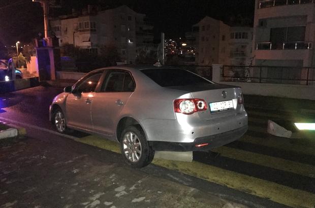 Alkollü sürücü bariyerleri kırdı, kaçamadan yakalandı Alkolmetreyi üflemedi hem para cezası aldı hem de ehliyetini kaptırdı