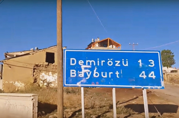 Korona virüs tedbirleri kapsamında Gökçedere- Köse kara yolu ulaşıma kapatıldı