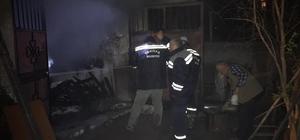 Bilecik'te meydana gelen ev yangını korkuttu
