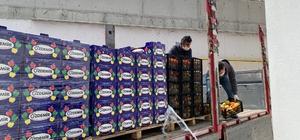 İş adamı kardeşlerden sağlık çalışanlarına 400 kasa meyve