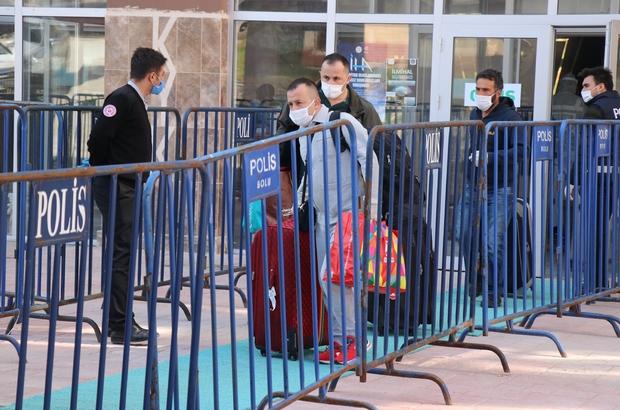 Bolu'da karantina sürecini tamamlayan 140 kişi evine döndü