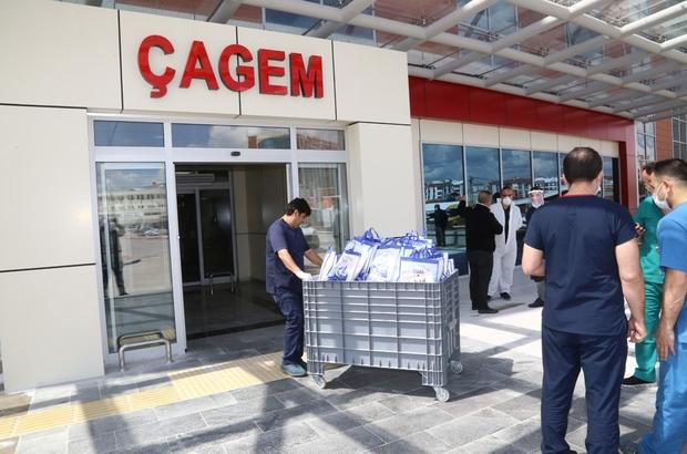 Sivas Belediyesi sağlık çalışanlarını unutmadı