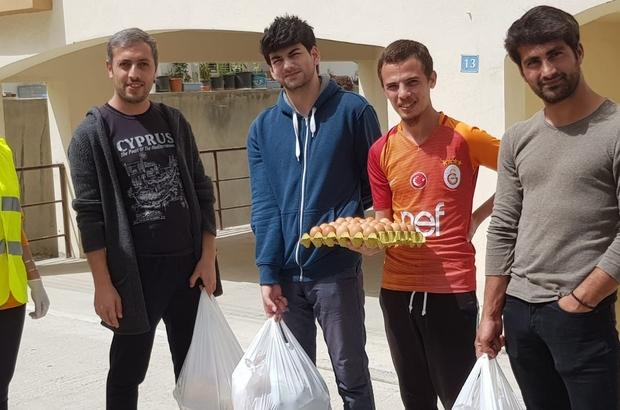 Kıbrıs'taki Tarsuslu öğrencilere Kaymakam Otcu'dan yardım eli