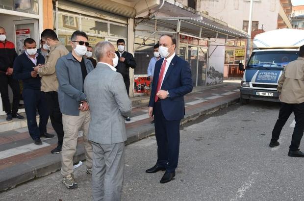 Valiliğin temin ettiği maskeler ilçelerde dağıtıldı