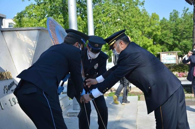 Ortaca'da Türk Polis Teşkilatının 175. kuruluş yıl dönümü töreni