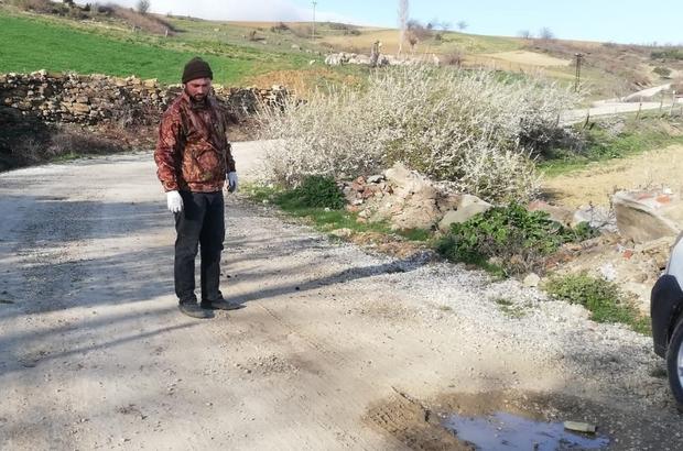 Osmaneli'nde yapılmayan köy yolları vatandaşı çileden çıkardı