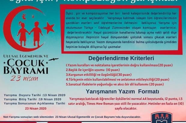 23 Nisan'da balkonlarda buluşacaklar Manisalı çocuklar 23 Nisan'ı evlerinin balkonlarında ellerinde Türk bayraklarıyla kutlayacak