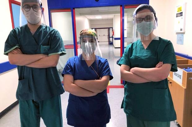 Virüs savaşçılarına 118 'yüz kalkanı'