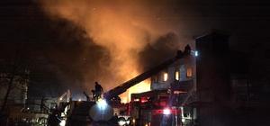 Trabzon'da balık fabrikasının soğuk hava deposundaki yangın kontrol altına alındı