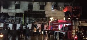 Trabzon'da balık fabrikasının soğuk hava deposunda çıkan yangın söndürüldü