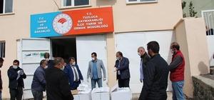 Iğdır'da Arı yetiştiricilerine ilaç desteği sağlandı