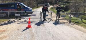 Trakya'nın ilk karantina köyünde karantina 7 gün uzatıldı
