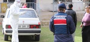 Aksaray'da karantina süresi dolan köy normal hayata döndü