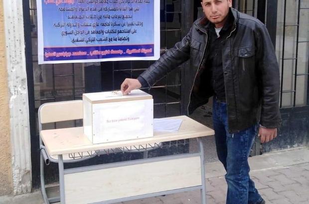 Suriyeli öğrencilerden Milli Dayanışma Kampanyası'na anlamlı bağış