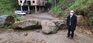 Rizeli muhtardan sıra dışı önlem Rize'nin Çayeli ilçesine bağlı Derecik Köyü'nde muhtar, köye giriş çıkış olan 5 yolu, taş ve toprakla kapattı
