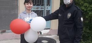 Balon için ihbarda bulundu