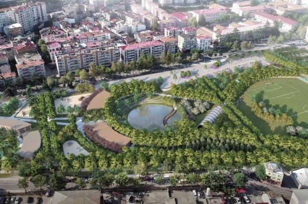 Trabzon'da millet bahçesi'nin inşaat çalışmaları sürüyor yapılan ...