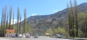 Erzurum'un İspir ilçesin'de hurda operasyonu