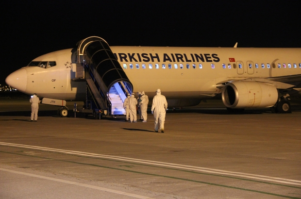 Nijer ve Mali'den getirilen 151 Türk vatandaşı Erzurum'da karantinaya alındı