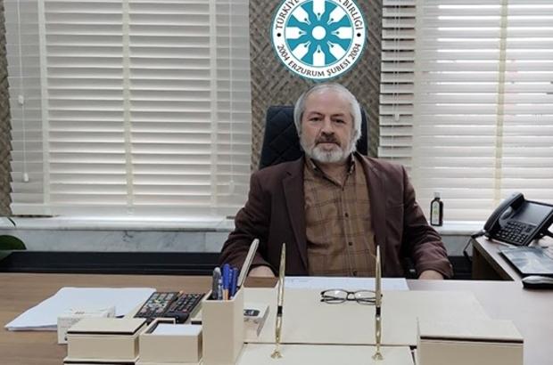 TYB Erzurum Şubesi'nden Erbaş'a destek açıklaması