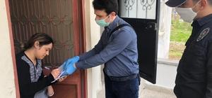 Giresun'da Vefa Sosyal Destek ekipleri vatandaşların taleplerini evlerine kadar ulaştırıyor