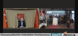 İzmir'de 25 bin 695 yardım paketi daha geliyor İzmir Büyükşehir Belediyesinin dayanışma kampanyasına 7 saatlik canlı yayında büyük destek CHP Genel Başkanı Kemal Kılıçdaroğlu ve ünlü isimler görüntülü bağlandı