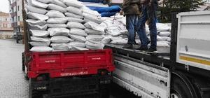 Çamoluk'ta organik tarım faaliyetleri için organik gübre dağıtımı yapıldı