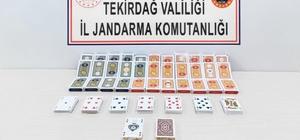 Tekirdağ'da kumar operasyonu: 15 kişiye 68 bin lira ceza