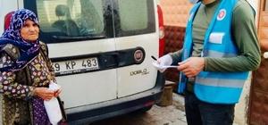 Şarköy'de Vefa Sosyal Destek Grubu Din Gönüllüleri, gönüllere dokunuyor