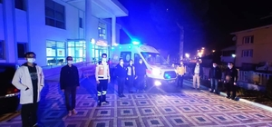 Tam teşekküllü ambulans hizmete girdi