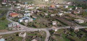 Karantina altındaki köy drone ile kontrol ediliyor Kaymakamlık karantinadaki köyü havadan da kontrol ediyor