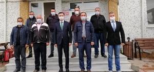 Durağan'da özel idare yatırımları Genel Sekreter Çınkıl, Durağan'da özel idare yatırımlarını inceledi