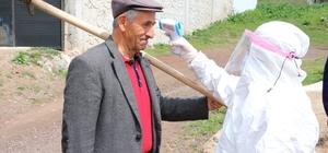 Yozgat'ta karantina süresi sona eren köylerde sağlık taramaları devam ediyor