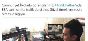 """Bakan Ziya Selçuk'tan öğrencilere sözünü unutmayan trafik polisine tebrik Bakan Selçuk: """"Pes etmeyen trafik polisini tebrik ediyorum"""""""
