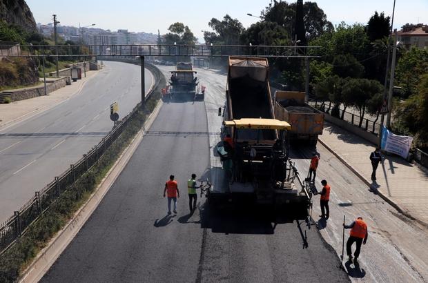 İzmir'de asfalt çalışmaları hafta sonu hız kazanacak