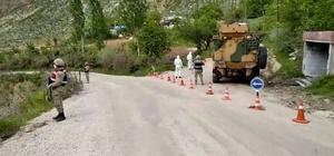 Siirt'te 4 köy ve 1 mezrada karantina devam ediyor