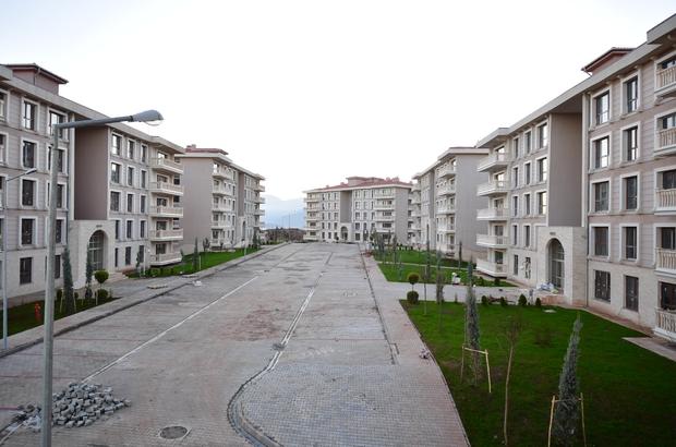 Gaziantep'teki sosyal konutlarda kura heyecanı başlıyor