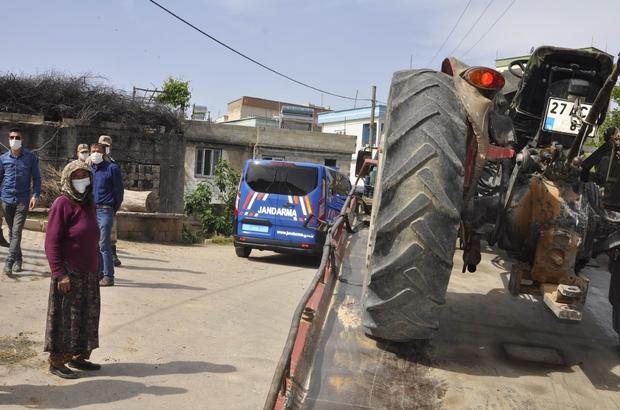 Cezaevinden izinli çıktı, çiftçinin traktörünü çaldı Traktör sahibi yaşlı kadının hırsızlara bedduası güldürdü