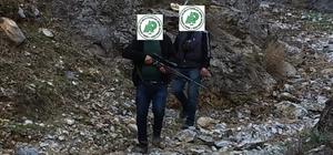 Kaçak Avlanan 2 kişiye 7 bin TL ceza