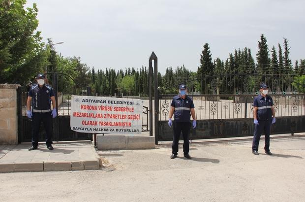Kadir Gecesi ve Ramazan Bayramı'nda mezarlık ziyareti yasak