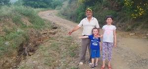 Tire'de kiraz üreticisi yol istiyor