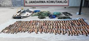 Bolu'da, 2 hafta önce geldiği gölette yine kaçak balık avlarken yakalanan şahsa para cezası