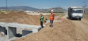 Bergama çevre yolu inşaatı başladı