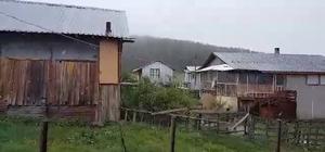 Bolu'nun yüksek kesimlerine kar yağdı Bolu'ya Mayıs ayında kar sürprizi