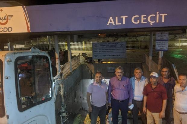 """Nazilli Tren Garı'na yürüyen merdiven ve asansör yapılıyor Alıcık; 'Devletimize, Nazilli'ye hizmetleri için teşekkür ediyorum"""""""