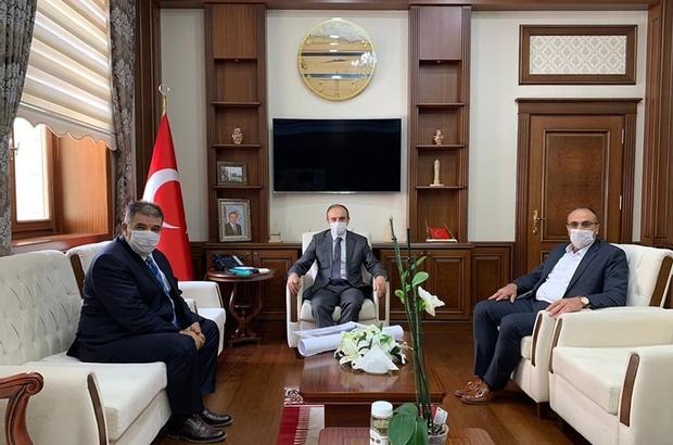 Milletvekili Fetani Battal, Vali Cüneyt Epcim'i ziyaret etti