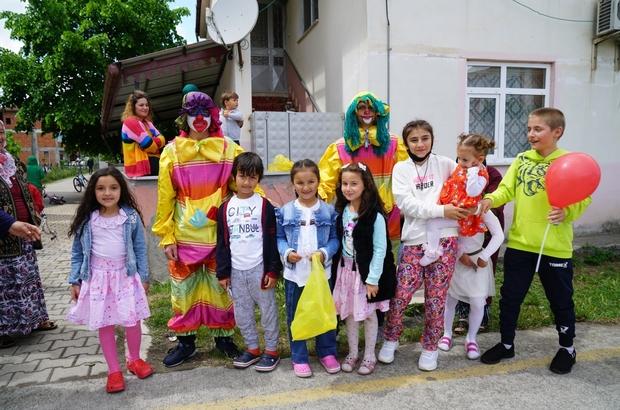 Terme Belediyesi bayramı evlere taşıdı