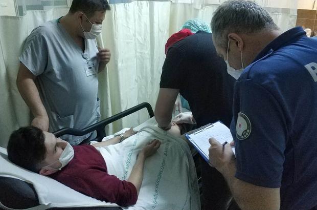Samsun'da maganda kurşunu evin önünde oturan genci vurdu