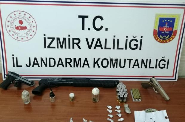 Tire'deki uyuşturucu operasyonunda 4 tutuklama